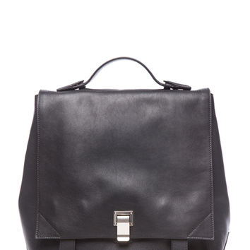 Proenza Schouler | Large PS Backpack in Black www.fwrd.com
