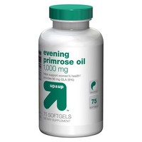 up&up Evening Primrose Oil 1000 mg Softgels - 75 Count