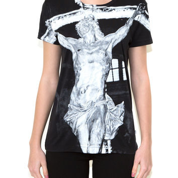 CROSS, Olivier Zahm for ONETSHIRT, Women Oversize Fit T-Shirt