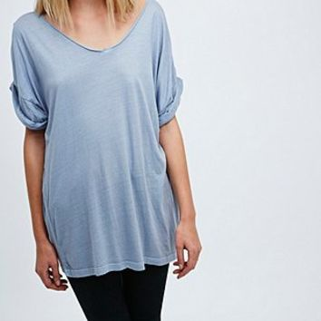 Pins & Needles Soft V-Neck Tee - Urban Outfitters