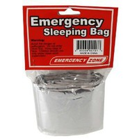Amazon.com: Emergency Sleeping Bag, Survival Bag, Emergency Zone Brand, Reflective Blanket: Sports & Outdoors