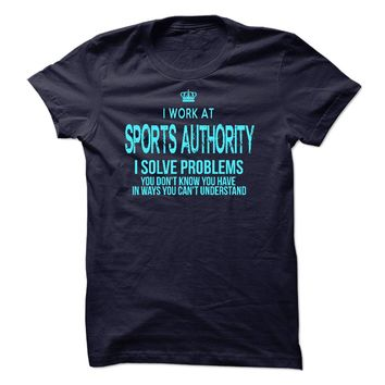 I Work At Sports Authorit