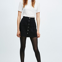 Cooperative A-Line Cord Skirt - Urban Outfitters