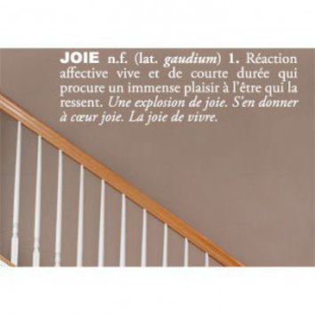 ADZif Blabla Joie (French) Wall Decal - T3117-FR - All Wall Art - Wall Art & Coverings - Decor