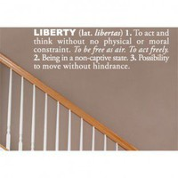 ADZif Blabla Liberty (English) Wall Decal - T3118-EN - All Wall Art - Wall Art & Coverings - Decor