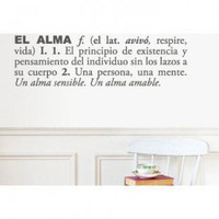 ADZif Blabla Pasin (Spanish) Wall Decal - T3108-SP - All Wall Art - Wall Art &amp; Coverings - Decor