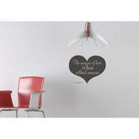 ADZif Blabla Love without Measure (English) Wall Decal - T3123-EN - All Wall Art - Wall Art &amp; Coverings - Decor
