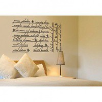 ADZif Blabla Whispers Wall Decal - T3101 - All Wall Art - Wall Art &amp; Coverings - Decor