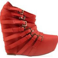 Jeffrey Campbell Zip 2 in Red at Solestruck.com