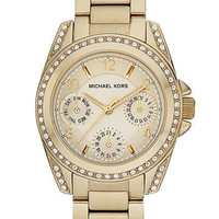 Women's Michael Kors 'Mini Blair' Multifunction Watch, 33mm - Gold