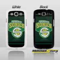 Seattle Supersonics Logo Samsung Galaxy S3 Case