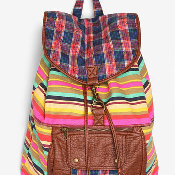 Cooperative Mixed Pattern Backpack