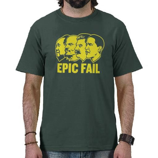 Epic Fail Obama Shirt from Zazzle.com