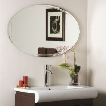 Decor Wonderland Frameless Marisol Wall Mirror - SSM1067 - Mirrors - Decor