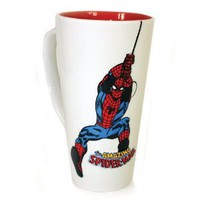 Amazon.com: Spiderman 3D Ceramic Mug - 18oz.: Kitchen &amp; Dining