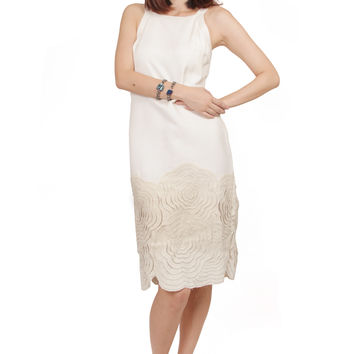 ZARDOZE Chenille Shift Dress