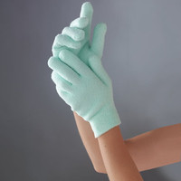 The Moisturizing Gloves And Booties - Hammacher Schlemmer