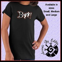 Rhinestone Halloween BOO GIRLS T Shirt sizes S - L with Cute Scary Ghosts