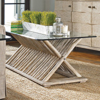 PoshLiving - Driftwood Flats Coffee Table - Product Images