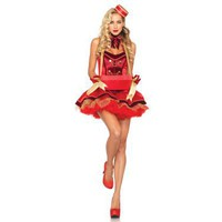 Vintage Cigarette Girl Adult Costume