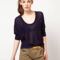 G-Star Lightweight Knitted Top at asos.com