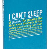 I Can&#x27;t Sleep Journal | Mod Retro Vintage Books | ModCloth.com
