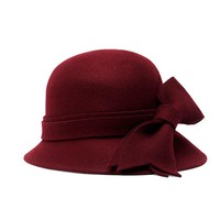 Heathered Bow Cloche | Brooks Brothers
