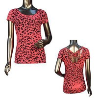 Ladies fashion short sleeve round neck top - id.22054