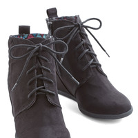 ModCloth At the Strutting Edge Bootie