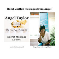 Angel Taylor - Secret Message Locket Necklace - Special Edition