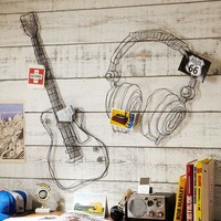 Wire Music Decor
