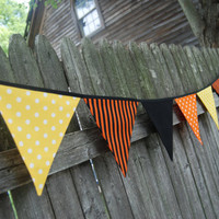 Halloween 2011 Party Bunting / Banner / Garland by BlueMoonStudios