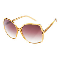 Vans Rockin&#x27;Lady Sunglasses - Transparent Tan