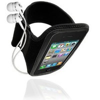 Soft Sport Gym Armband Case for iPhone 4, Samsung I9100 Galaxy S II, HTC Evo 4G, HD7: Cell Phones &amp; Accessories