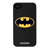 Batman - Emblem Design on AT&T iPhone 4 Case by Coveroo: Cell Phones & Accessories