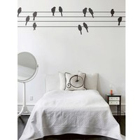 Ferm Living Powerbirds wall decal by Couture Déco