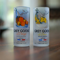 Grey Goose Flavored Shot Glasses