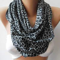 Super Elegant - Infinity Scarf Loop Scarf Circle Scarf Gift - Leopard - Super  Loop