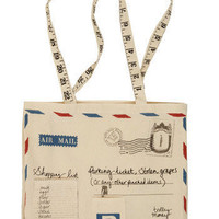 Alpha Mail Tote | Mod Retro Vintage Bags | ModCloth.com