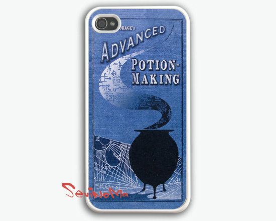 Advanced Potions, iPhone 4 Case, iPhone 4s Case, Leaky Con Potions Book, iPhone 4 Hard Case
