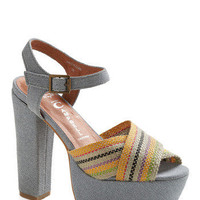 Runs in my Jeans Heel | Mod Retro Vintage Heels | ModCloth.com