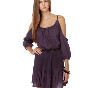 Chorus Line Purple Dress
