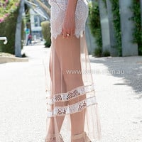 ORCHARD LACE MAXI SKIRT , DRESSES, TOPS, BOTTOMS, JACKETS & JUMPERS, ACCESSORIES, $10 SPRING SALE, PRE ORDER, NEW ARRIVALS, PLAYSUIT, GIFT VOUCHER, $30 AND UNDER SALE, SWIMWEAR,,MAXIS,SKIRTS,White Australia, Queensland, Brisbane