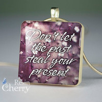 scrabble tile necklace,phrase jewelry pendants,quotes resin pendants- P1130SP