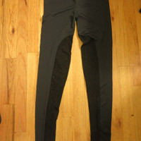 Cynthia Rowley Black Sheer Cutout Leggings Sz M/L