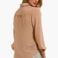 Hearts About Blouse $33