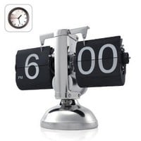 Amazon.com: Niceeshop Retro Flip Down Clock - Internal Gear Operated: Furniture &amp; Decor