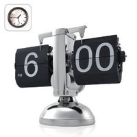 Amazon.com: Niceeshop Retro Flip Down Clock - Internal Gear Operated: Furniture & Decor