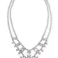 Tom Binns | Madame Dumont Swarovski crystal necklace | NET-A-PORTER.COM