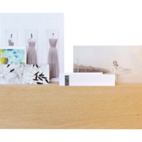 Desk organiser Ligt wood by L'atelier d'exercices